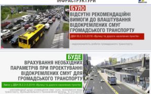 Нові ДБН: в Україні розроблять сучасні норми проектування смуг для…