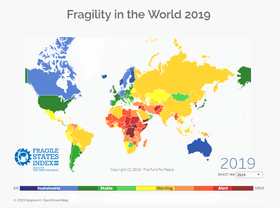 Україна займає 91-е місце зі 178 країн світу за Індексом…