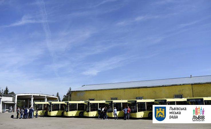 Від сьогодні на автобусному маршруті №40 курсуватимуть 12-метрові автобуси