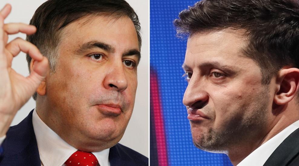 Саакашвілі подав Зеленському звернення із проханням повернути йому українське громадянство
