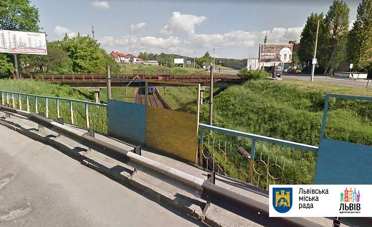Цього року у Львові розпочнуть роботи з будівництва пішохідного моста…