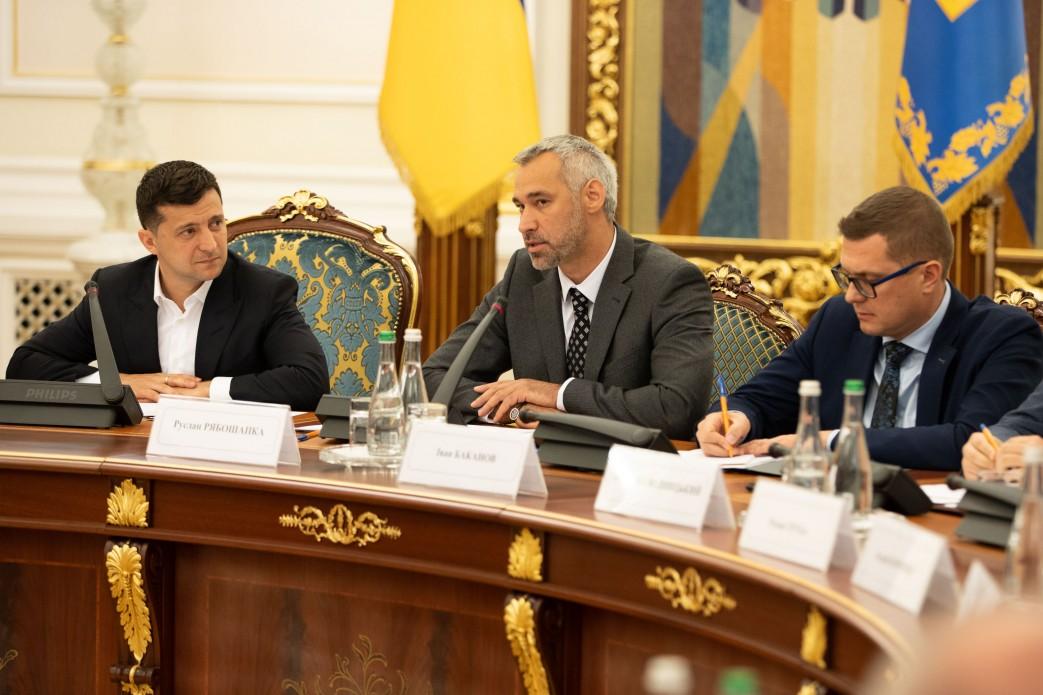 Руслан Рябошапка назвав пріоритети у роботі Національної ради з питань…