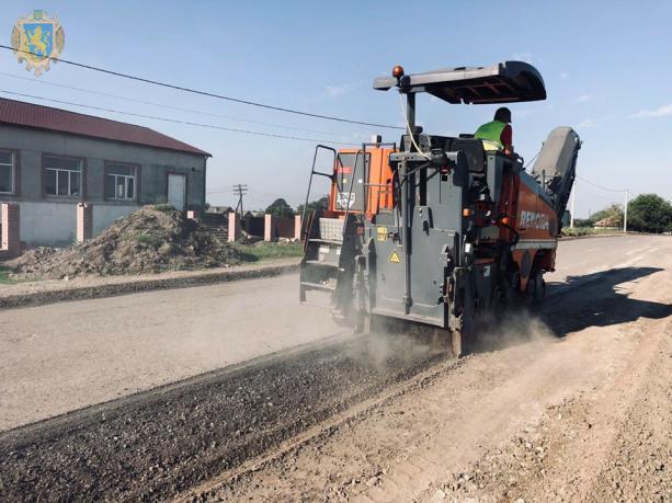 В області розпочали ремонт автомобільної дороги Сокаль-Стоянів