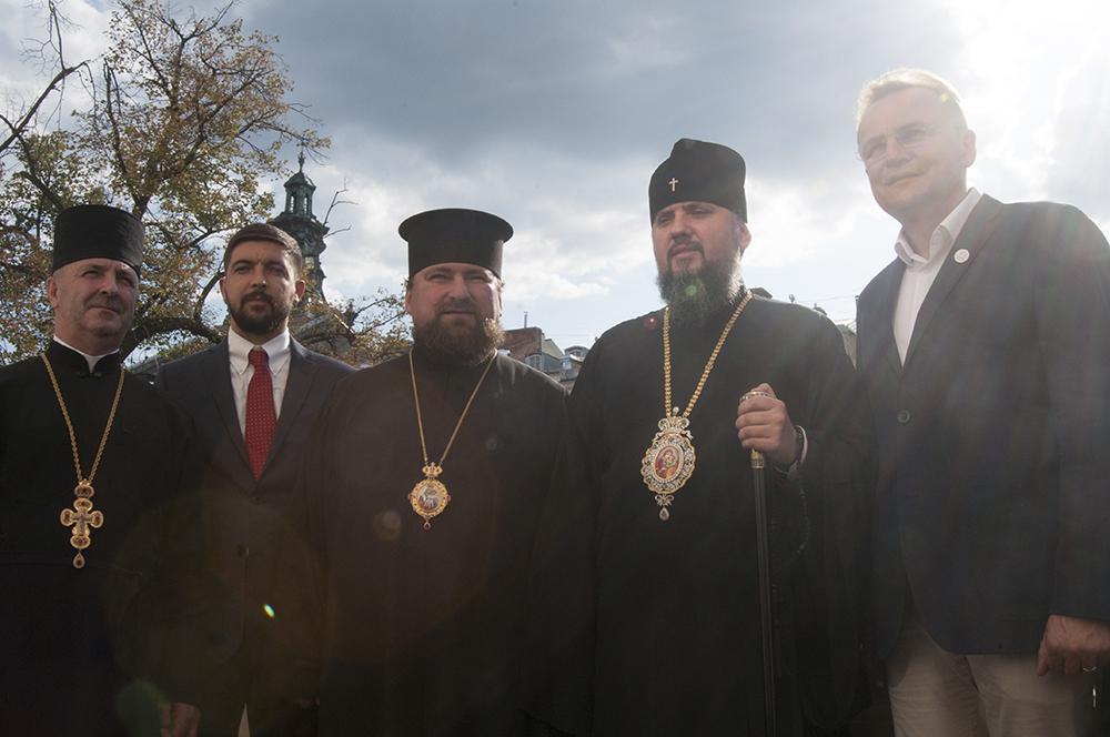 Блаженніший Епіфаній прибув на Львівщину