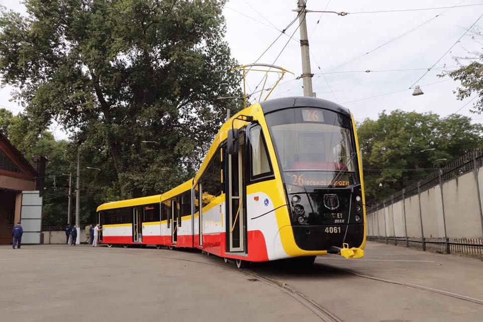 Одеса приєдналась до клубу міст, що експлуатують багатосекційні трамваї