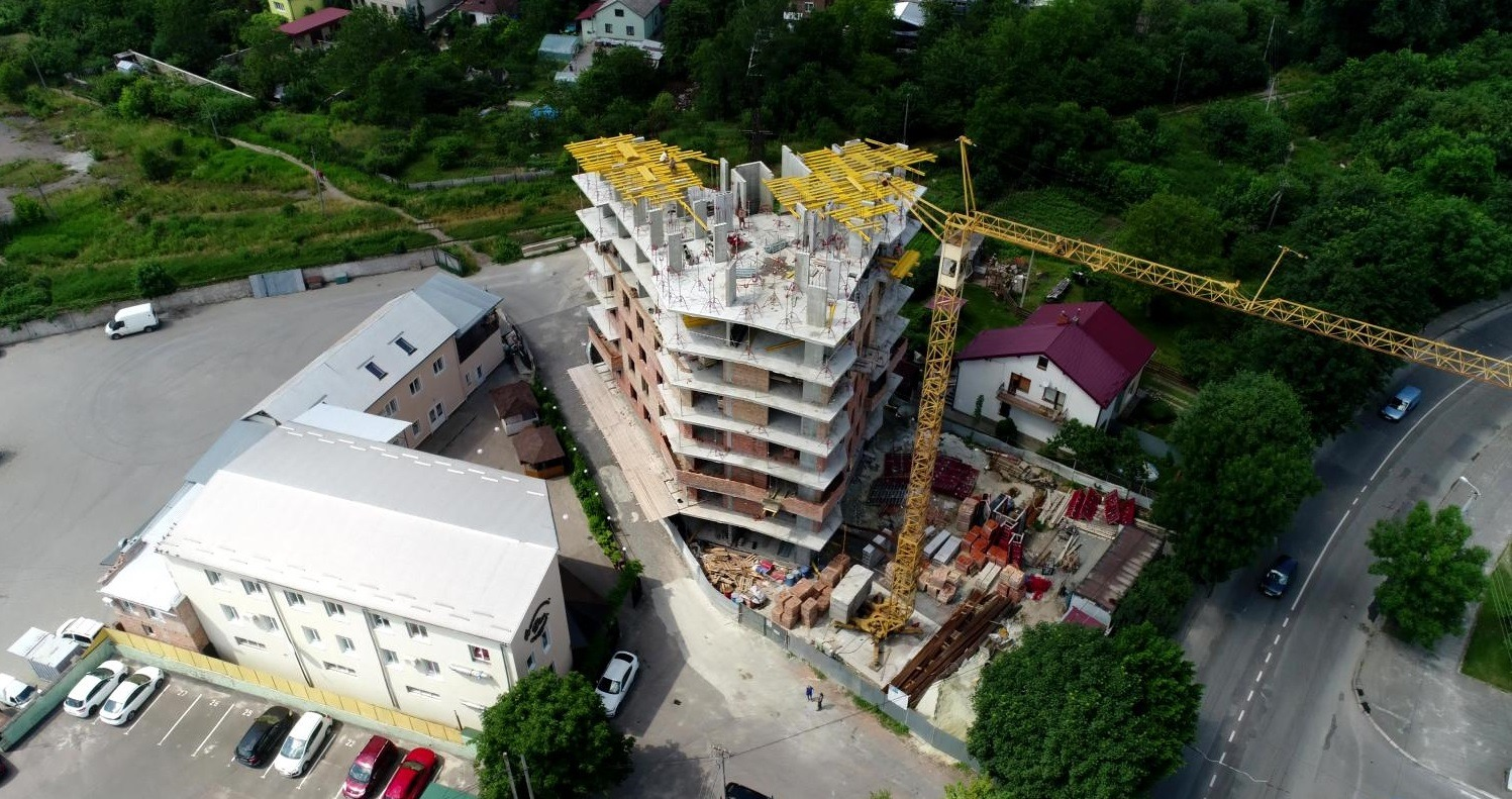 У Львові розпочали будівництво скандального будинку на Зеленій